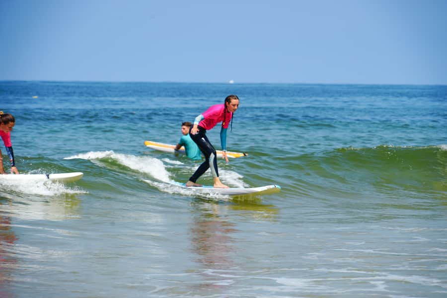 A Day in the Life of... Our Moliets Surf & Yoga Camp - Surf Lesson 900x600