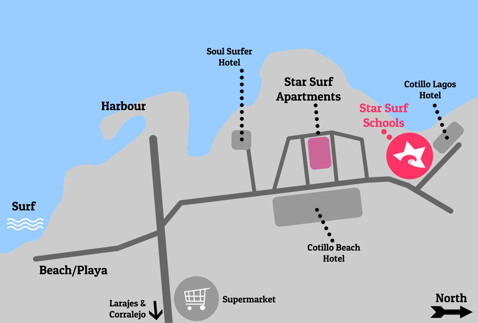 Star Surf Schools Where to find us