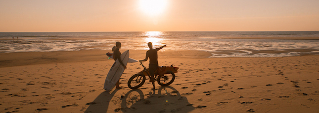 Moliets Surf Camp | Header | 645x230 | Beach Sunset